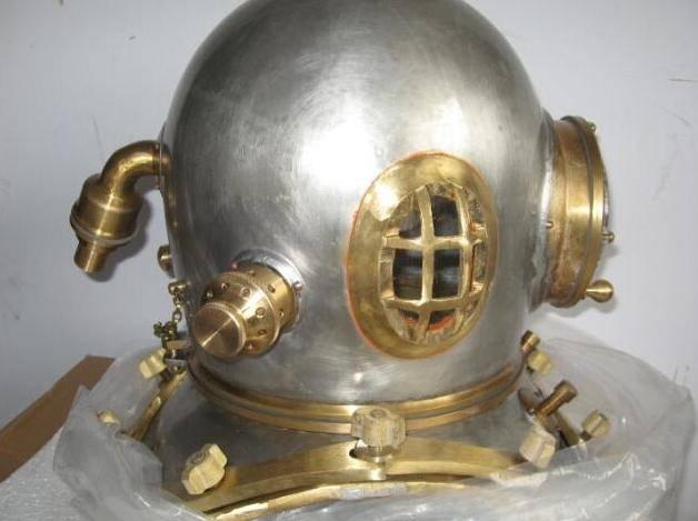 厂家出售深海打捞40米潜水衣 TF-12重潜头盔潜水胶管