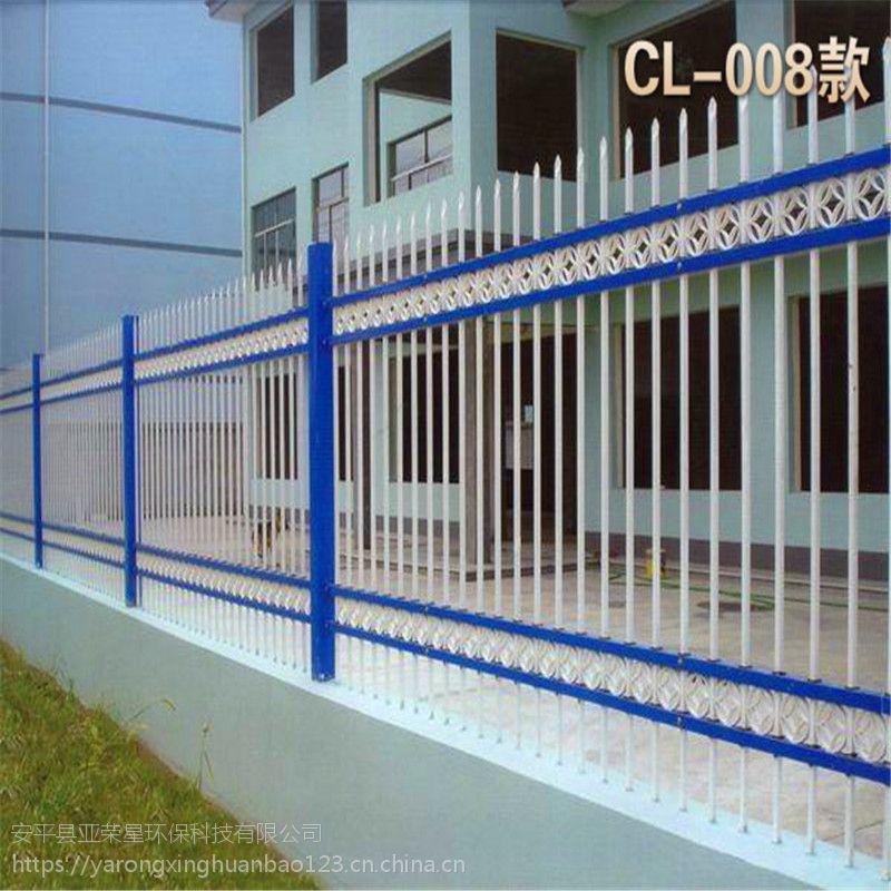 锌钢护栏配件@广州锌钢围栏打孔机@庭院车间园林隔离栏