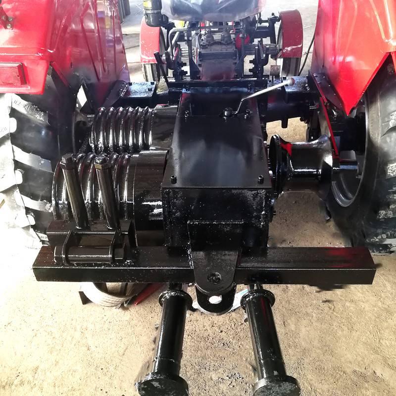 350型拖拉机绞磨功率有多大 500型拖拉机绞磨怎么样 洪涛电力 厂家直销
