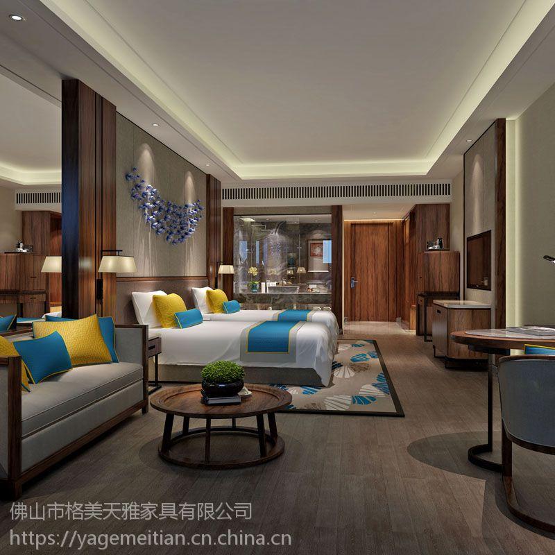 星级酒店家具,定制家具,商务酒店家具,酒店套房床