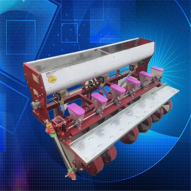 省时省力型谷子精播机 启航多功能苜蓿播种机 六行娃娃菜播种机价格