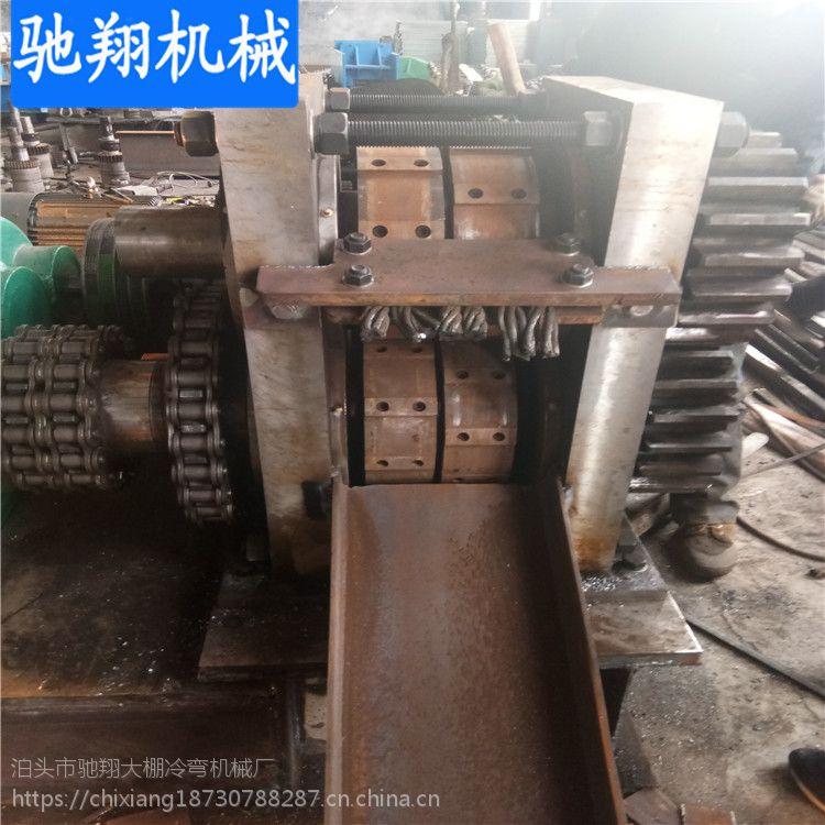 建筑用一寸半架子圆管压扁铁机钢筋切断机设备变废为宝再利用