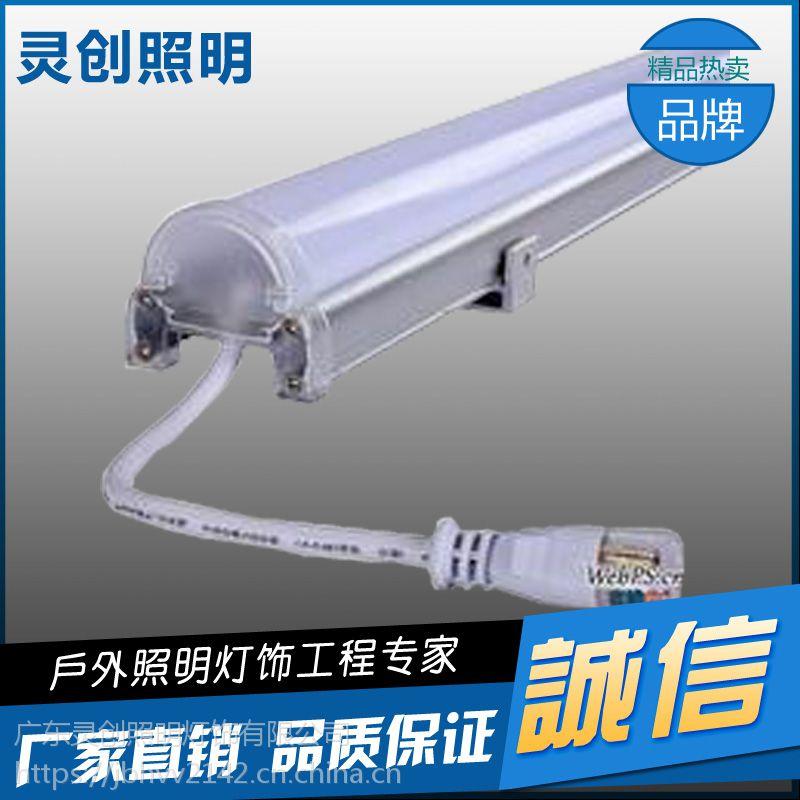 陕西延安市发光效率高防水工艺好LED数码管灯具亮化工程优质推荐灵创照明