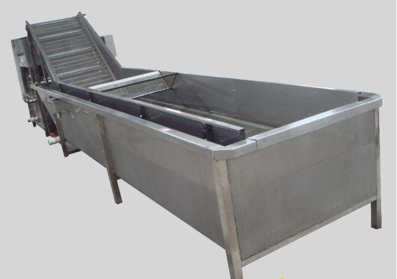 正康直供气泡洗菜机果蔬翻浪水浴不锈钢清洗设备