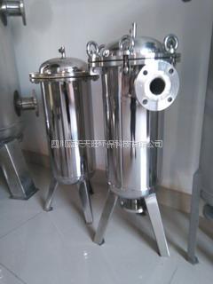 四川JX-FILTRATION自动排污袋式过滤机污水净化处理设备厂家报价