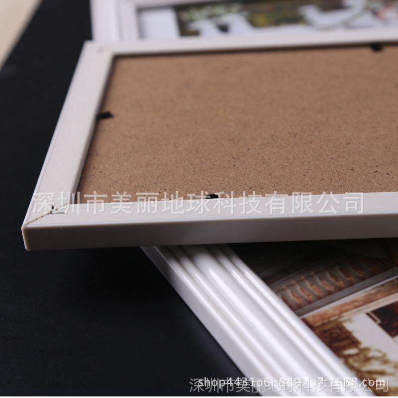 7寸婚纱照相框挂墙实木欧式20结婚照片36相片框创意40全家福定做