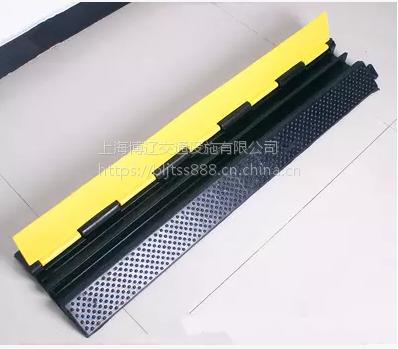 博辽 PVC橡胶线槽舞台铺线板 压线板 耐压线槽减速带