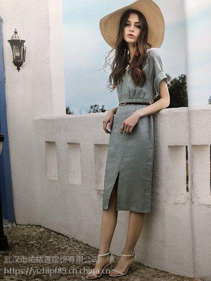 四季青服装市场杭州品牌折扣女装批发品牌折扣店招商欧美连衣裙慕拉