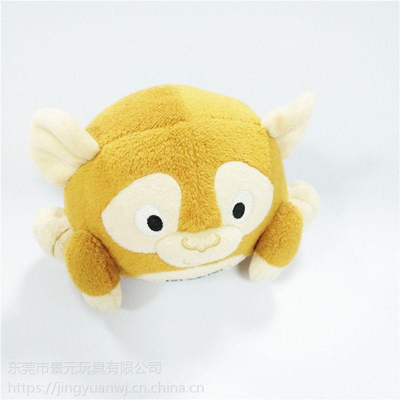 动物毛绒玩具吉祥物公仔 可来图打样设计 OEM加工定制生产厂家