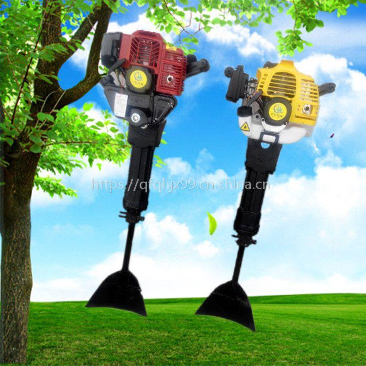 苗圃树木移栽机 河北苗木带土起球机 带土球树木断根机