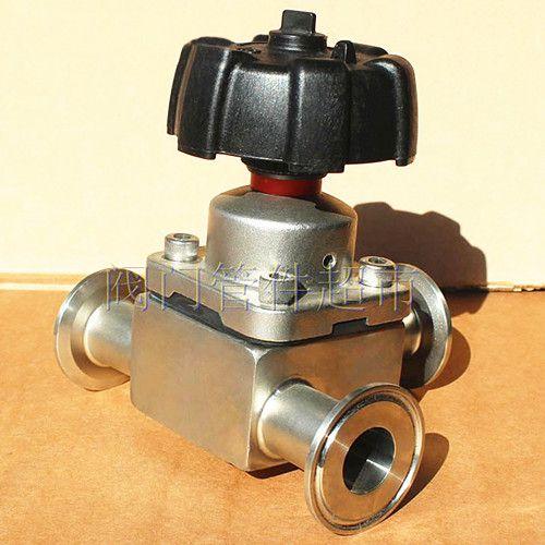 φ76卫生级气动隔膜阀昌吉应用环保机械