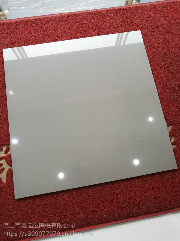 佛山工程瓷砖厂家直销800*800纯灰色抛光砖