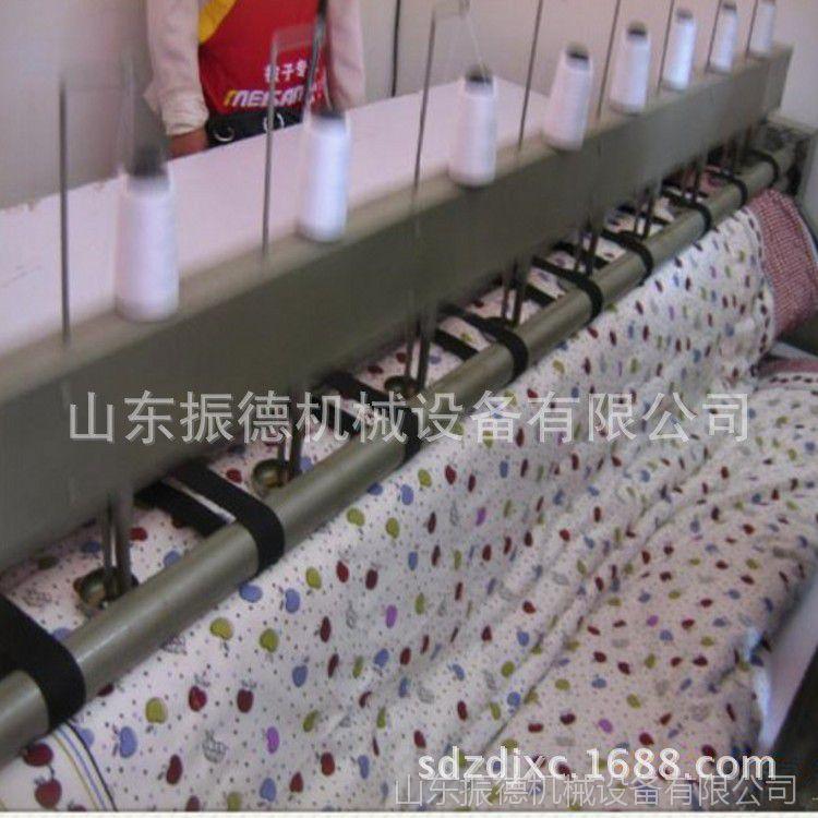 厂家直销全自动缝被机 多针直线引被机 个体加工套被机 振德牌