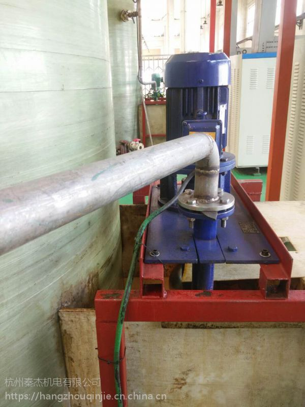 不锈钢液下泵65YW37-13-3yw无堵塞液下式排污泵长轴液下泵