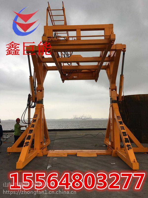天津集装箱翻转机鑫巨能量大优惠厂家定做