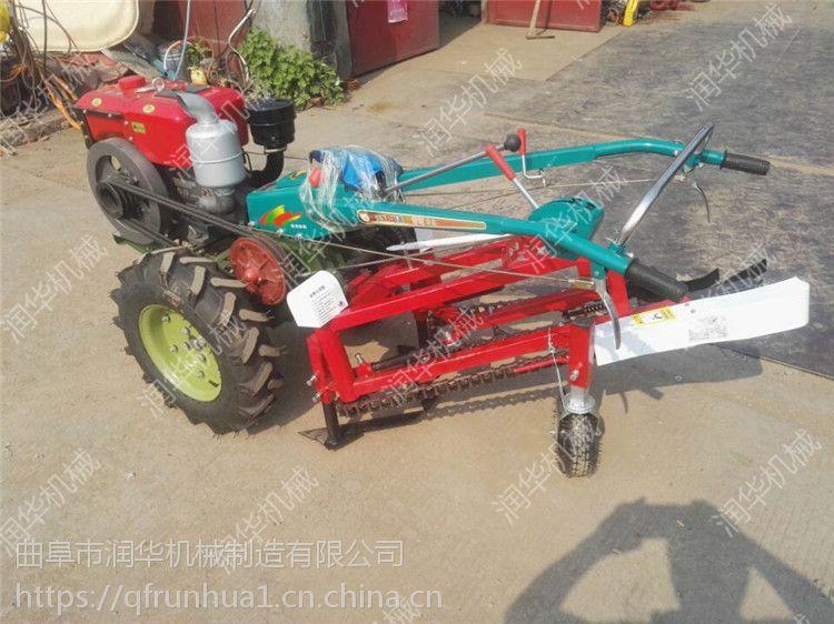 花生大蒜通用收获机 拖拉机带收地瓜机 手扶车带出花生机