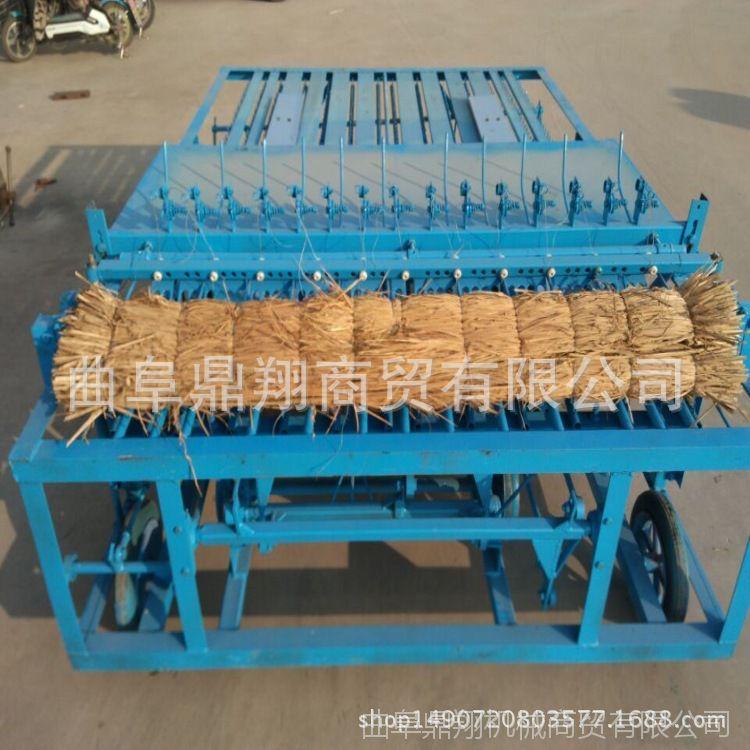 山东厂家销售生产自动喂料草帘机 小麦秸秆编织机 杂草编织机