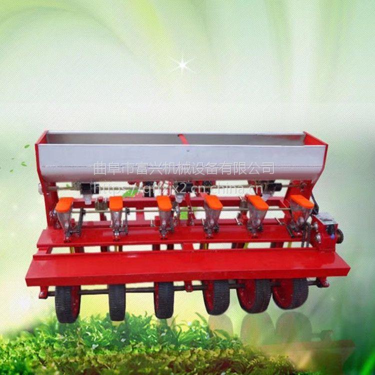 多功能芥菜精播机 富兴免间苗精密苜蓿播种机 秋葵种植机价格