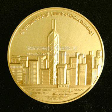 厂家定制旅游庆典纪念币 商务馈赠金属礼品 广告促销纪念币定做