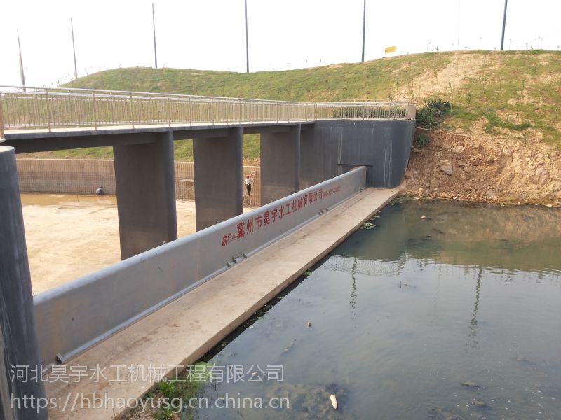 河北昊宇水工20m*3m钢坝闸门机械工程设备价格合理