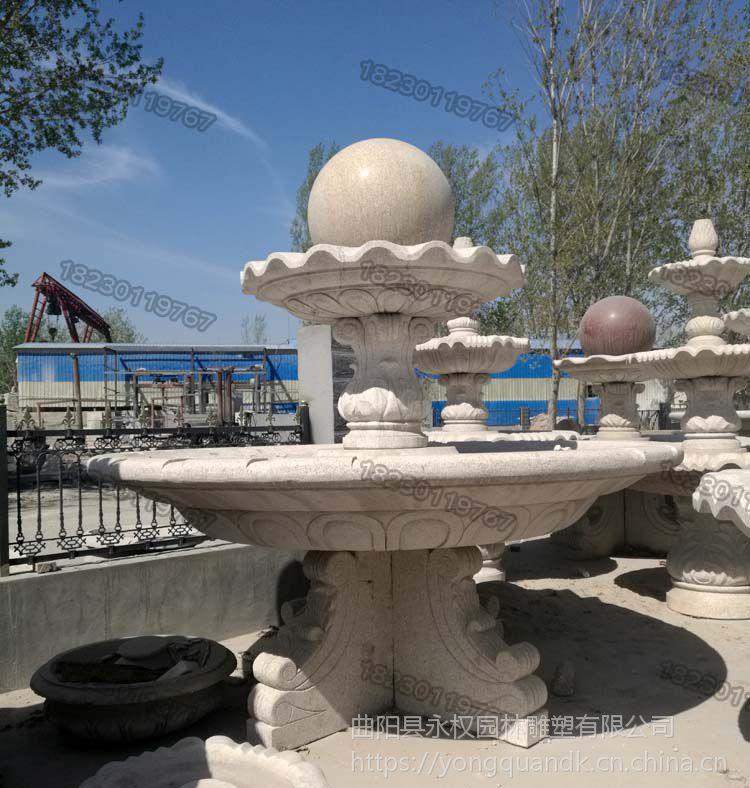 曲阳石雕风水球_大理石石材风水球价格_永权园林雕塑
