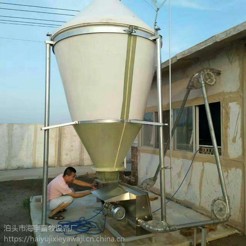 大型规模养殖户专用设备 猪用全自动化料线 海宇热卖
