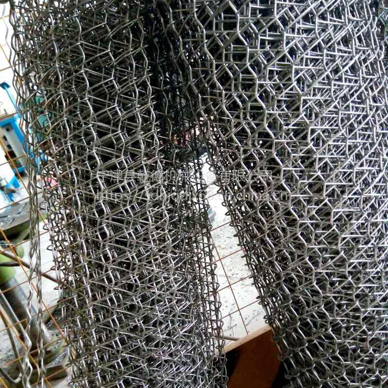 耐高温网带厂家 山东乾德不锈钢烘干机输送网带质量保障 价格实惠