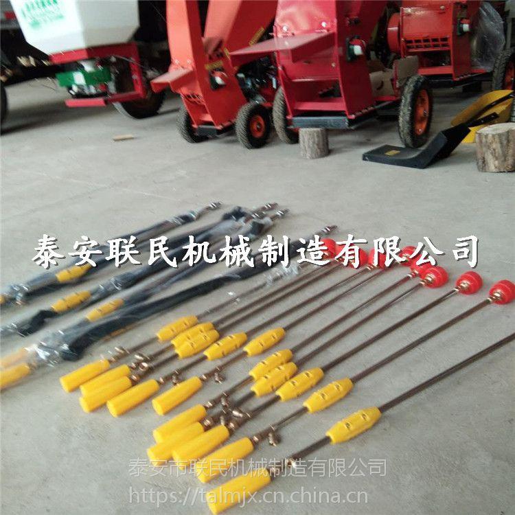 泰安联民供应 手推式打药机喷药机价格 朝阳市多功能汽油动力打药机