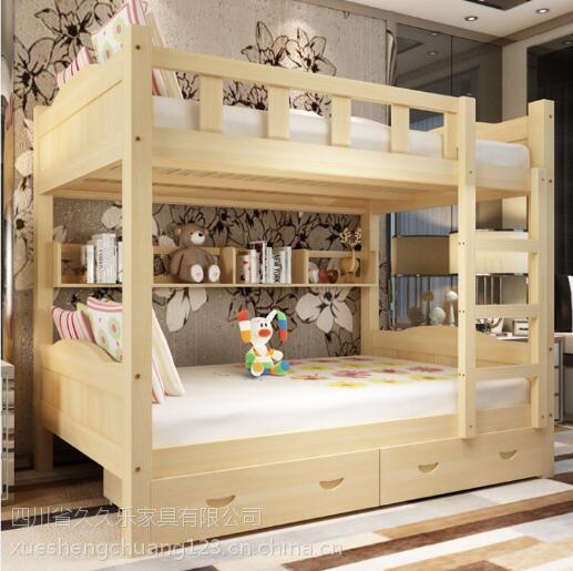 松木高低床价格_四川成都成都松木学生床公寓床实木上下床价格 - 中国供应商