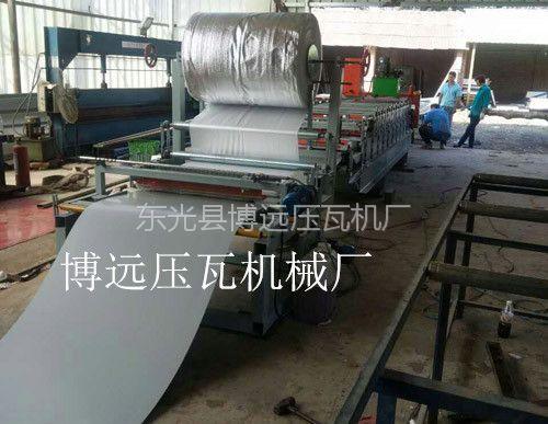 彩钢压瓦机覆膜机@威海840-900彩钢压瓦机覆膜机厂家