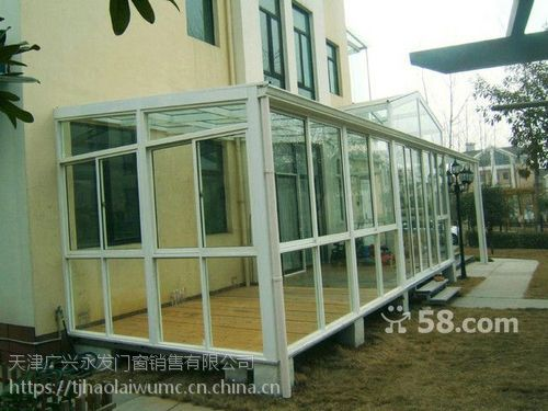 天津隔音 保温 密封断桥铝门窗封阳台制作厂家