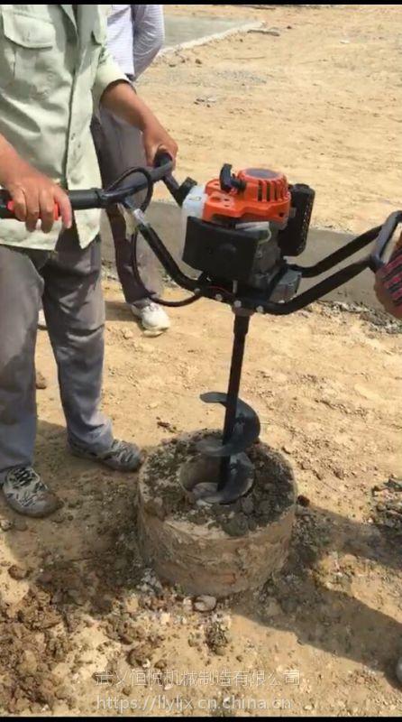 新款升级版螺旋式桩芯取土机大功率掏土速度快