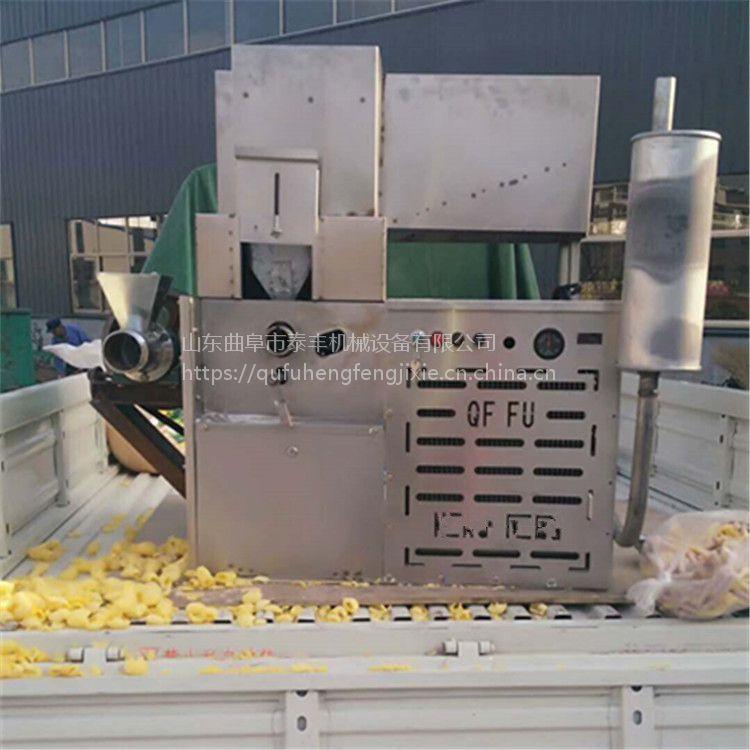 延边自动下料杂粮面糖组合机收益高 夜市集市花生桂酥机4缸