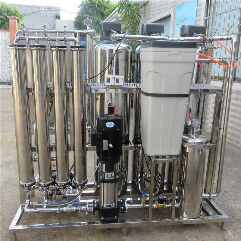 晨兴热销2T/H全不锈钢大型单级反渗透纯水设备工业水处理水厂
