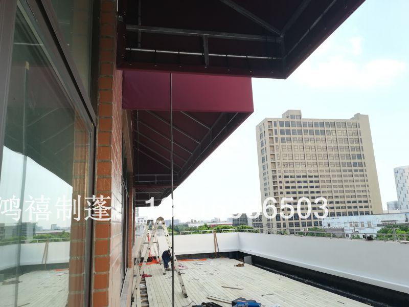 长宁雨棚设计 上海长宁装饰遮阳蓬 长宁法式雨棚 长宁门店雨棚设计厂家