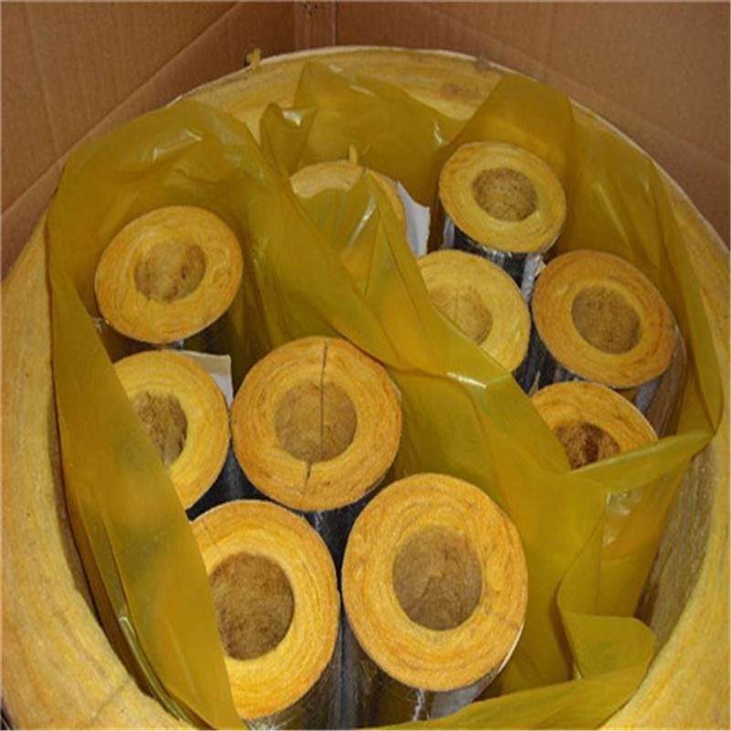 欢迎咨询离心玻璃棉管 3-15公分玻璃棉管生产厂