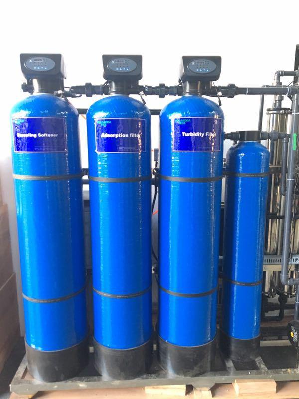 正品推荐 江苏304不锈钢自动软化水设备南通市自来水井水河水锅炉除水垢净水器 脉德净