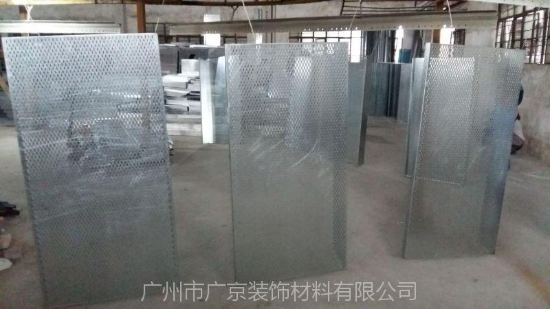 湖南东风启辰白色柳叶孔镀锌钢板天花图片