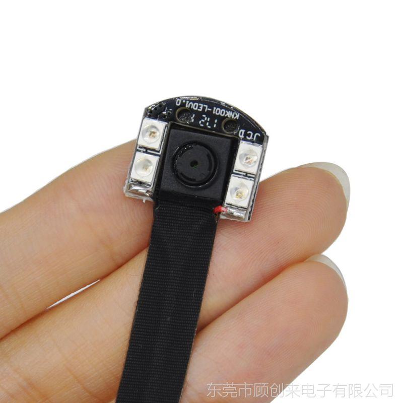 1080P P2P 小型WIFI无线监控摄像头带4个IR灯辅助照明