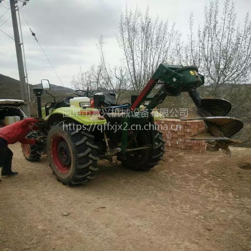 山坡地硬土质挖坑机图片 苗木移植打孔机厂家 打坑机参数
