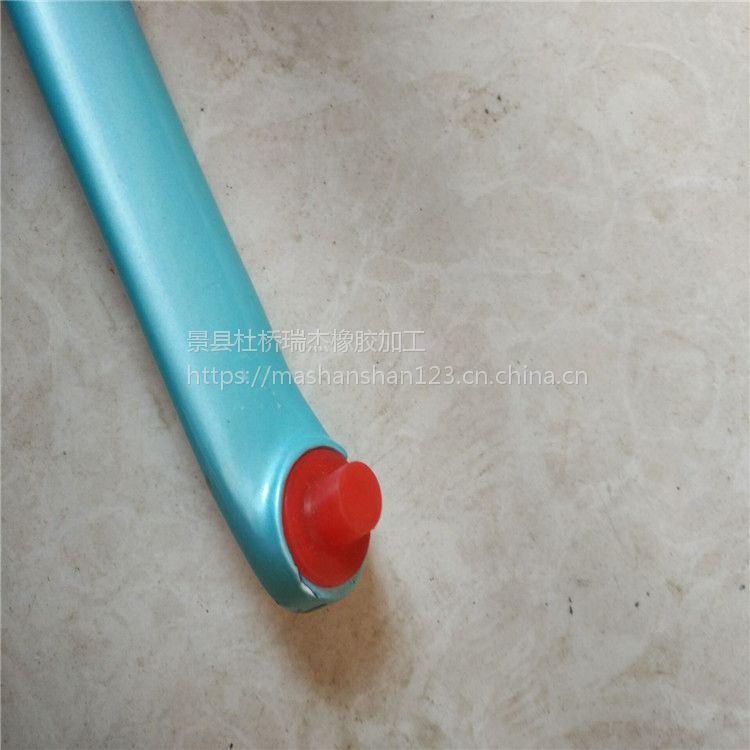 河北瑞杰供应耐高温锥形胶塞堵孔喷漆保护螺纹硅胶塞厂家