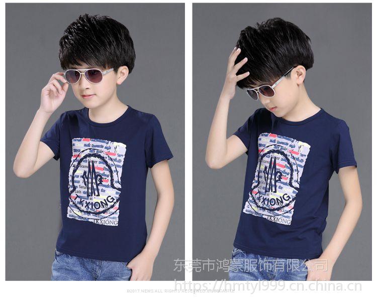 供应湖北武汉大量便宜童装T恤衫批发潮流时尚童装便宜套装批发3元起