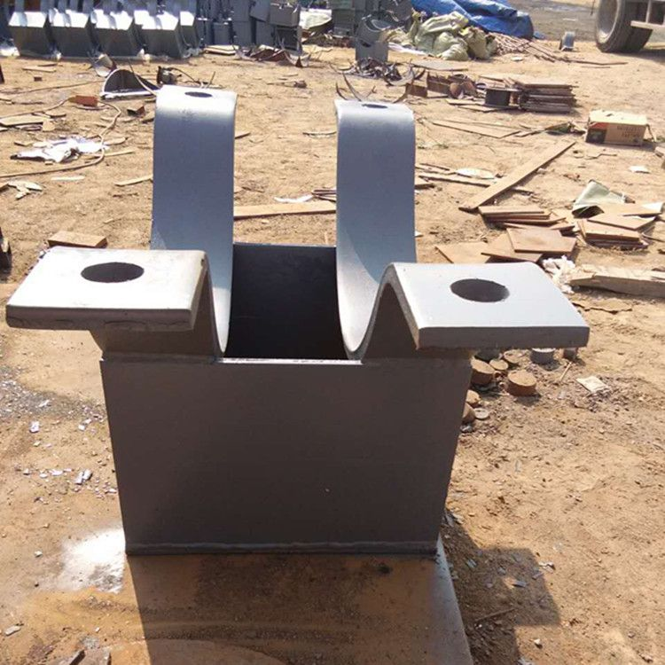 齐鑫G4焊接在钢构件上的单水平管用T形支架,品质保证