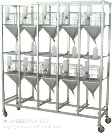 新型小鼠代谢笼 大鼠笼 小鼠笼 大鼠实验笼 大小鼠代谢笼 软隆