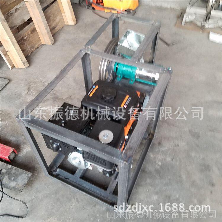 箱式单杠汽油膨化机 振德 生产小本致富机器 双螺杆玉米膨化机
