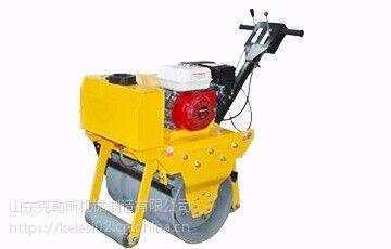 山东克勒斯豪华全液压单钢轮320Q 双向液压行走转弯半径小