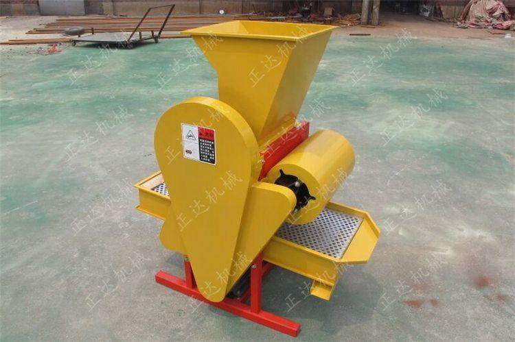 厂家直销zd-hs-800型号花生剥壳机 无尘花生剥壳机