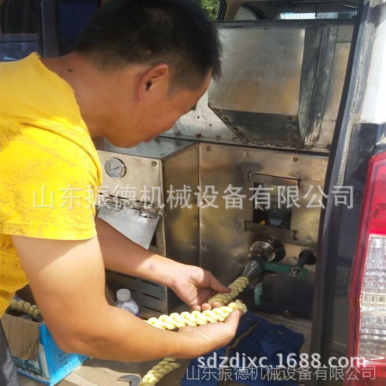 振德热销 汽油玉米膨化机 七用麻花膨化机 江米棍机