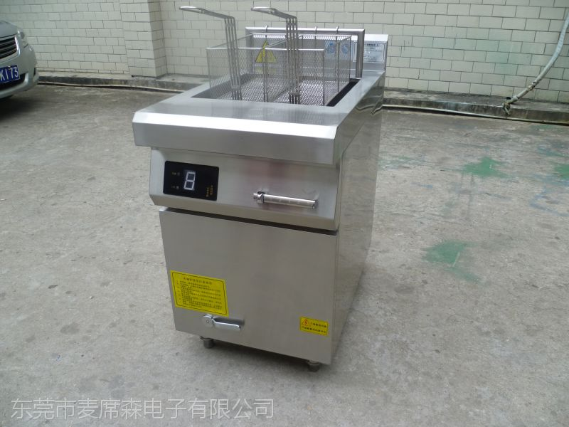 方宁定制型炸炉 商用电炸炉 节能油炸锅厂家供应