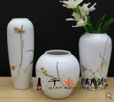 家居装饰品陶瓷花瓶 陶瓷花瓶定做厂家